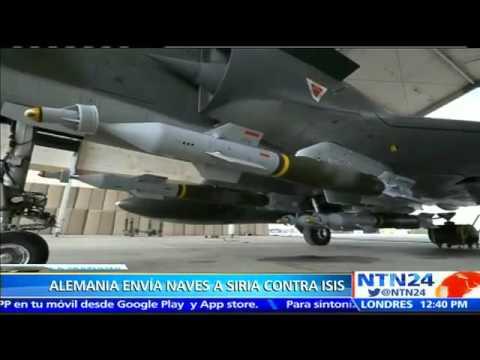 VIDEO: ALEMANIA ENVÍA SUS PRIMERAS NAVES A SIRIA PARA UNIRSE EN LA CAMPAÑA CONTRA ISIS