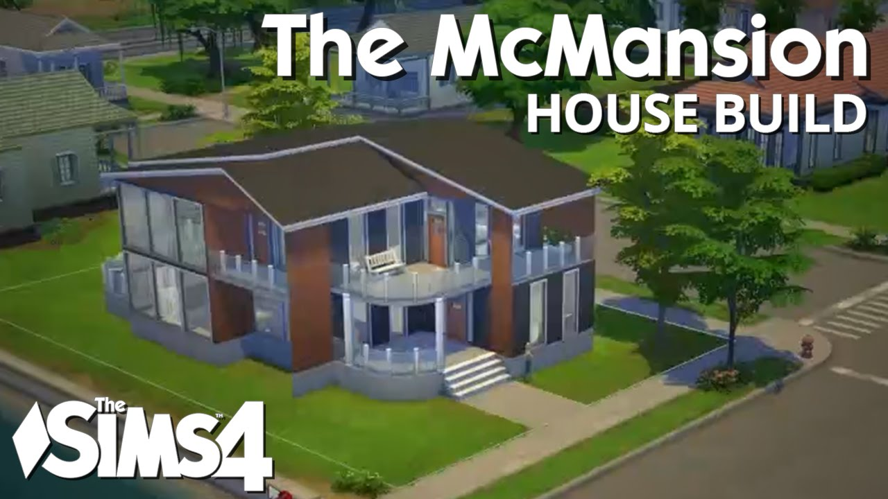 The Sims 4 House Building McMansion The That