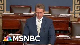 Senator Jeff Flake: White House Assault On Press