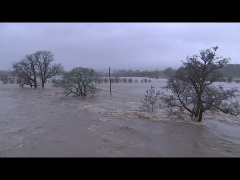 UK floods: 'Danger to life' as rain lashes the north