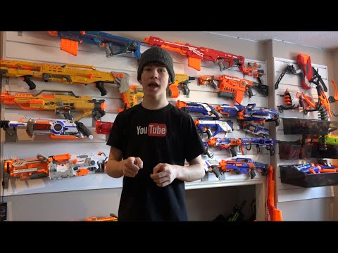 2015 ULTIMATE NERF ARSENAL! (NERFBoyProductions)