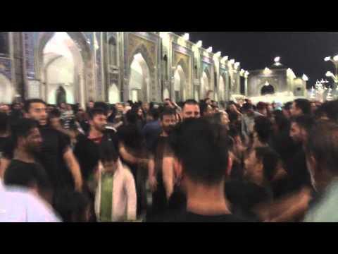 HAY ZAMIN E GHAREEBAN -5 JAMADIUSSANI IRAN MASHAD 2015/1436 HAHI ANSAR PARTY AYYAM E FATIMYA swt