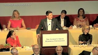 Paul Ryan Jokes About Trump at Charity Dinner