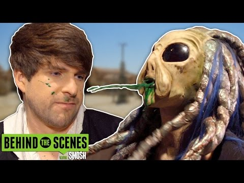 Hot Alien Girl Spits On Me (bts) video