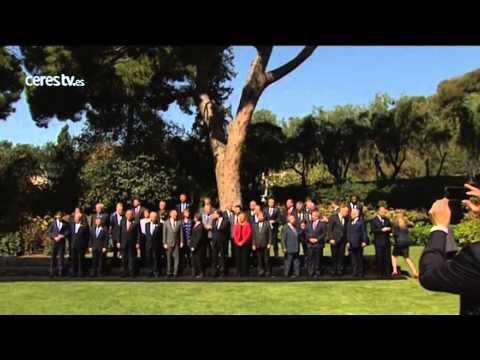 Rajoy, desde la 'ciudad española' de Barcelona: 'El yihadismo se combate con unidad'