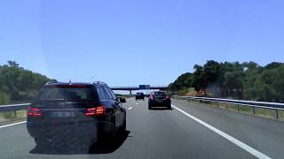 Driving in Portugal: Lisbon-Lagos part1/2. A12-A2 southbound