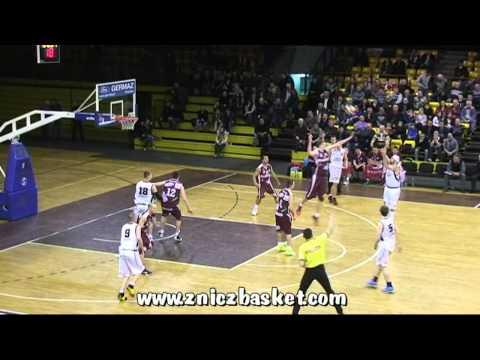 Znicz Basket Pruszków - Spójnia Stargard Szczeciński (skrót)