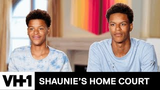 Shaqir Schools Shareef on Trick Shots | Shaunie's Home Court