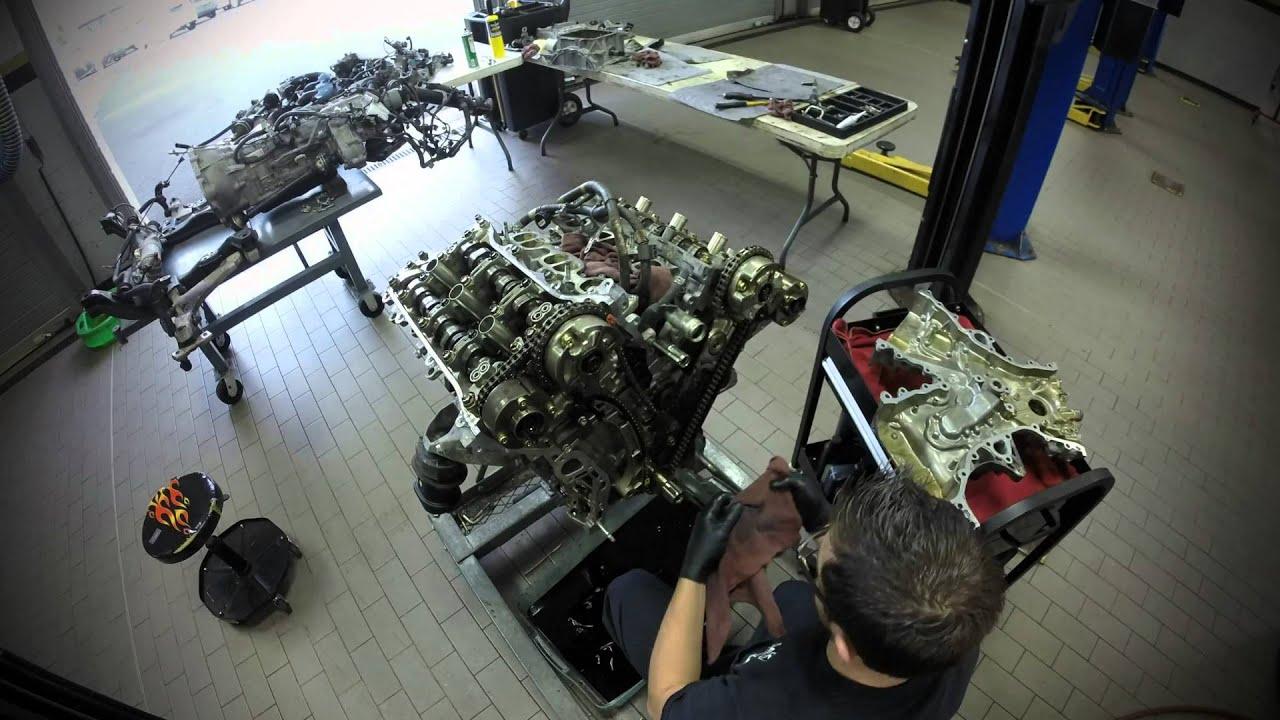 Lexus Is250 Engine Overhaul Youtube