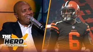 Hue Jackson on Baker Mayfield's potential, talks Browns tenure and Dez Bryant | NFL | THE HERD