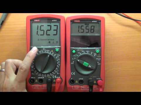 Multimeter Review / buyers guide: UNI-T UT90C (killed in review!!)