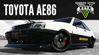 Futo by Karin: Toyota AE86 Build [GTA 5 PS4]