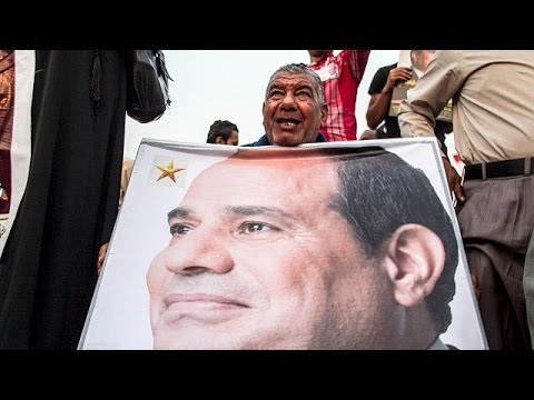 Al-Sisi supporters hold first presidential campaign rally in Egypt