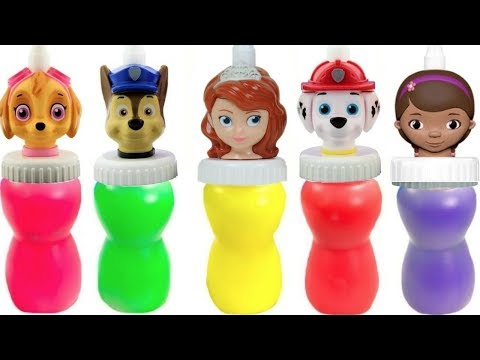 Paw Patrol Doc McStuffins Sofia the First Slime Surprise
