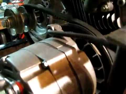 Thermodyne engine and  Permanent Magnet Alternator  PMA PMG