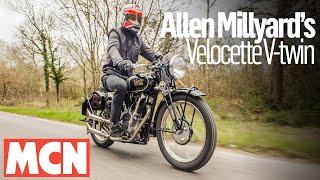 Allen Millyard's home-made Velocette V-twin |  MCN | Motorcyclenews.com