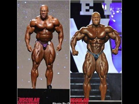 Phil Heath 2013 vs 2012 Phil Heath 2013 vs 2014