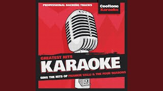 Swearin 39 To God Originally Performed By Frankie Valli And The Four Seasons Karaoke Version