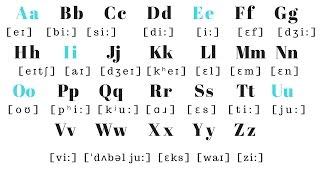 English Alphabet PRONUNCIATION | Pronounce each letter correctly!!!!