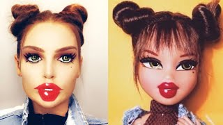 BRATZ DOLL | Halloween Makeup | deutsch