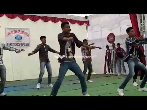 Sainik School Gopalganj Annual Day Programme : Dance Performed On Sitaron Ki Mehfil video
