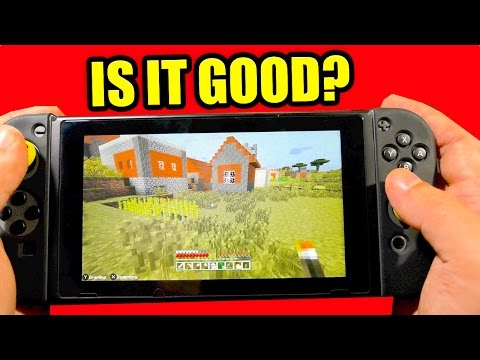 "MINECRAFT Nintendo Switch Edition - REVIEW - ""IS IT GOOD?"""