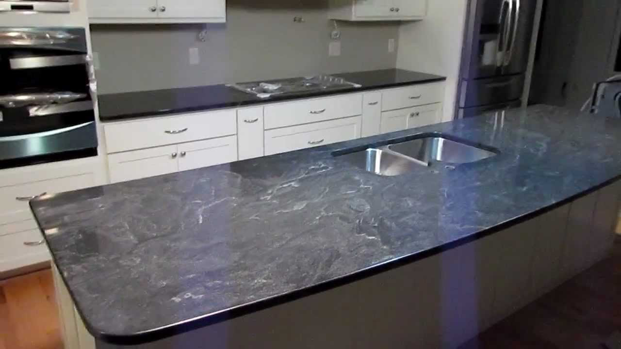 Jet Mist Custom Granite Counter Top Installed Youtube