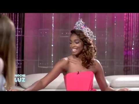 Yaritza Reyes y Luz Garcia entrevista 2016 (Miss Mundo Dominicana 2016)