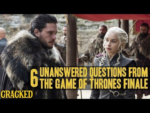 Game Of Thrones Finale Left A Lot Of Unanswered Questions