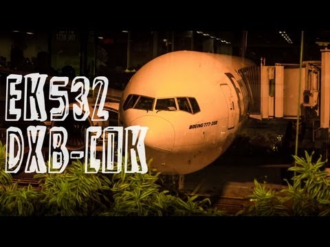 Emirates EK532 : Flying from Dubai to Kochi