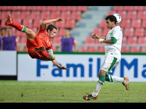 Saudi Arabia vs IR Iran: AFC U-16 Championship 2014