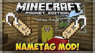 0.14.0 Minecraft Pe Mods: NAMETAG MOD Mods Para Minecraft PE 0.14.0