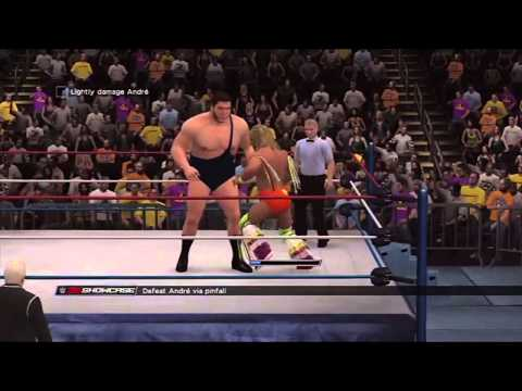 WWE 2K15 PS3 2K Showcase Path Of The Warrior 1
