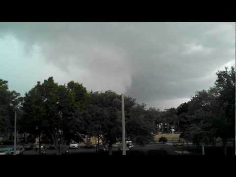 Orlando, Florida probable tornado March 24, 2013