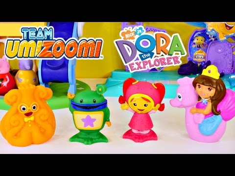 Team Umizoomi Milli Bot Squiddy Dora The Explorer Nickelodeon Bath Squirters By Disney Cars Toy Club video
