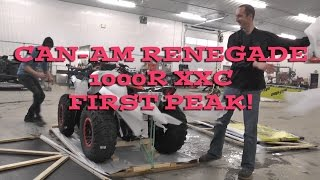 2016 Canam Renegade 1000R XXC First Look Out of the Crate!