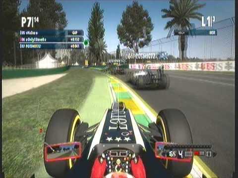 F1 2012 Codemasters Xbox 360 (Xbox live)