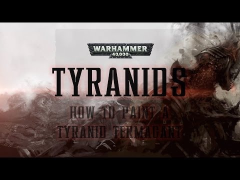 How to paint a Tyranid Termagant.