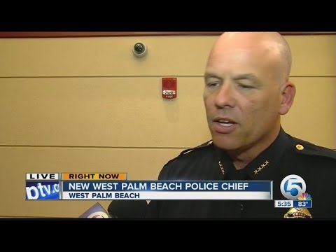 New West Palm Beach Police Chief