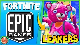 FORTNITE vs LEAKERS!! MYTHIC ZWAARD GEVAULT!! - Fortnite: Battle Royale
