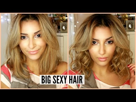 Big Sexy Hair ▶︎ Boucler Ses Cheveux Courts Ou Longs video