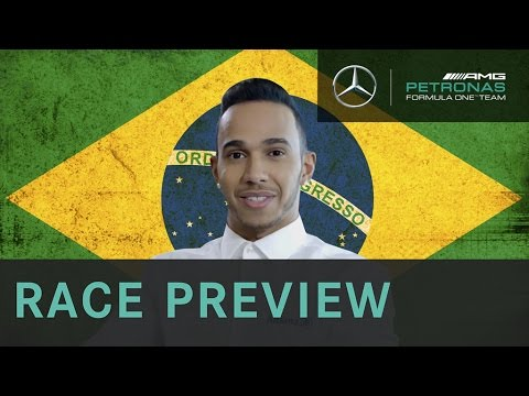 Lewis Hamilton 2015 Brazilian Grand Prix F1 Preview with Allianz