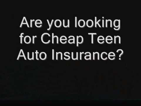 Get cheap teen auto insurance quotes