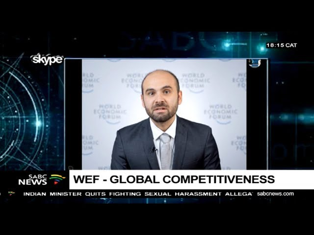 WEF's global economy competitiveness report: Roberto Crotti