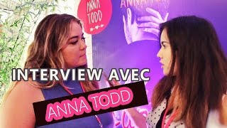 LOUANE dans le film AFTER ? ANNA TODD nous dit tout ! Interview - 5mitv