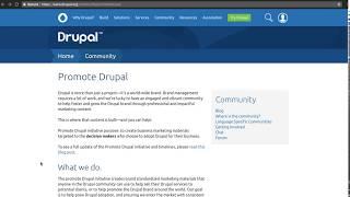 Drupal Association: Get Involved in the Promote Drupal Initiative