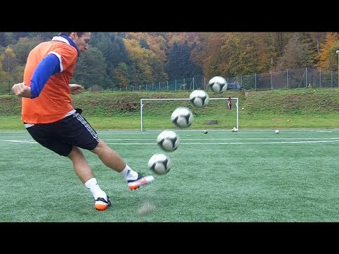 Best Free Kicks Montage | Vol.20 | +30m Longshots | Knuckleballs, Top Spin & Dips | freekickerz Music Videos