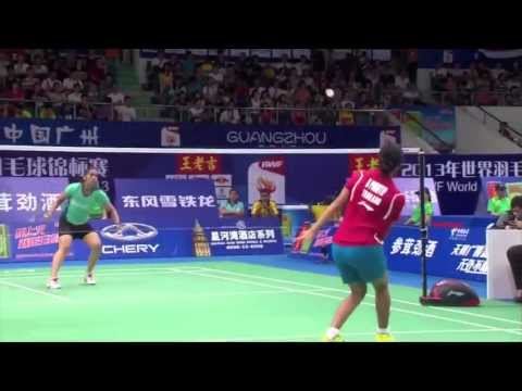 R16 - WS (Highlight) - Saina Nehwal vs Porntip Buranaprasertsuk - 2013 BWF World Championships