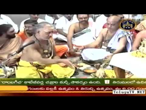 Ttd Maha Ganapathi Homam video