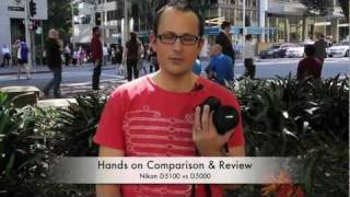 Nikon D5100 VS D5000 - Hands on review & comparison